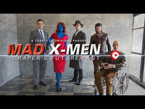 Mad X-Men: Don Draper's Future past