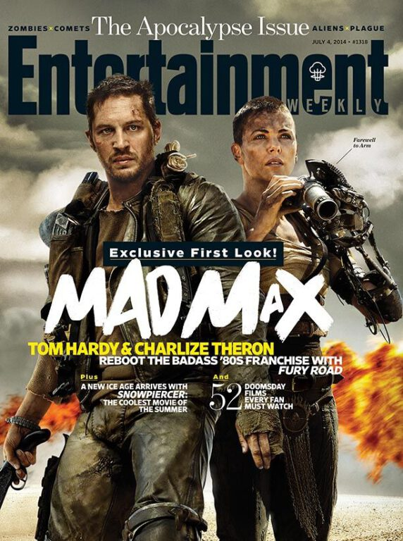 Official Mad Max: Fury Road Photos with Charlize Theron and Tom Hardy