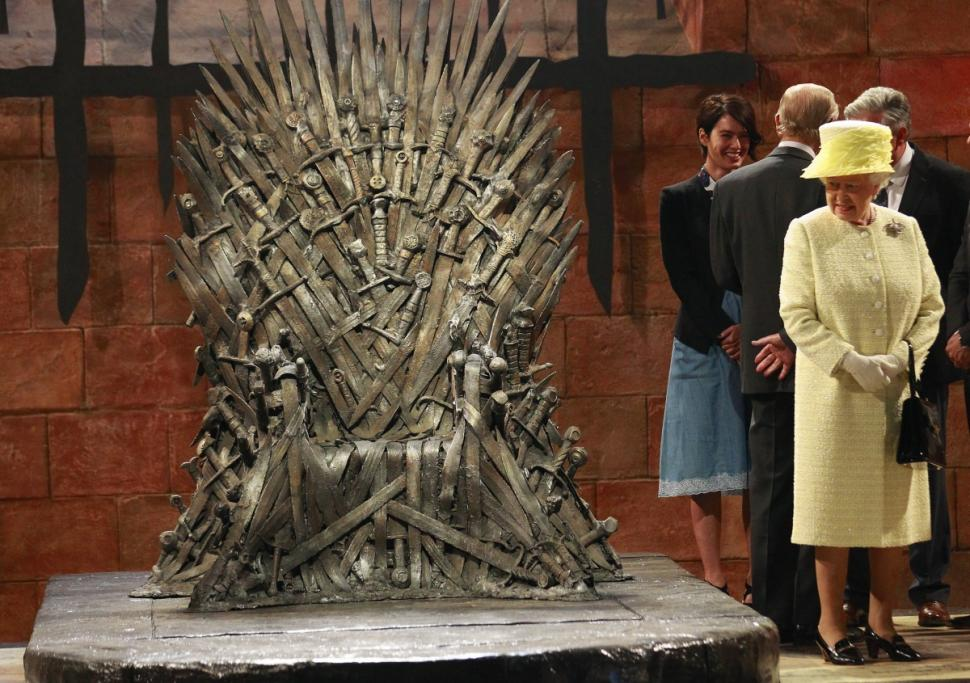 Queen Elizabeth Visits the Iron Throne, Plots Takeover of Westeros