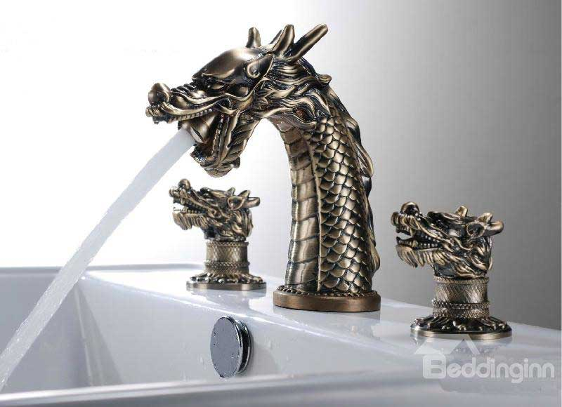 Dragon Enthusiasts! Heed This Faucet!