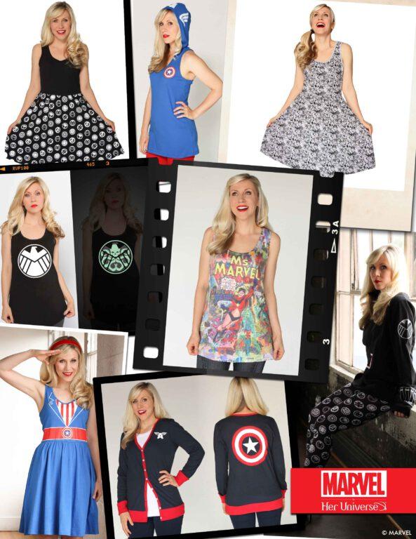 Her Universe Announces Marvel Fashion Line!
