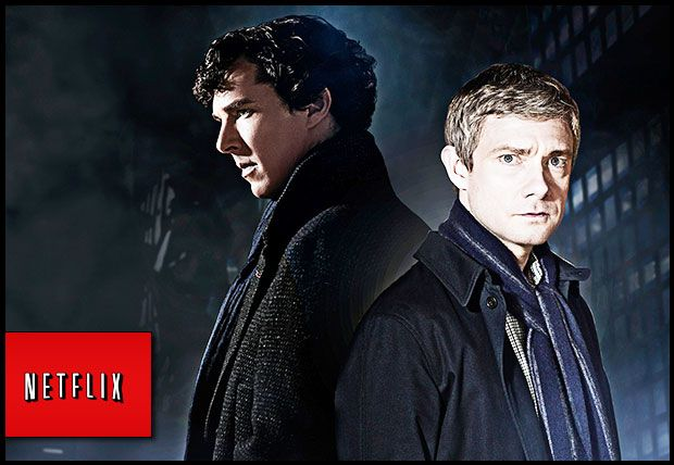 Sherlockians of the Internet! Sherlock Season 3 Is Coming to Netflix, TODAY!