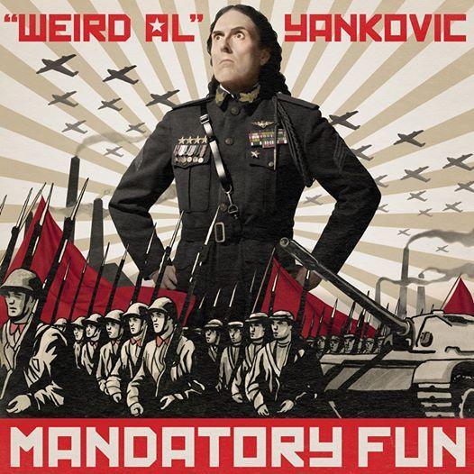 Weird Al's New Album Cover Is Fantastic