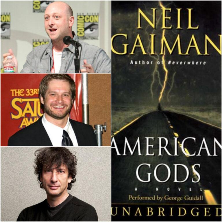 Neil Gaiman's American Gods Gets Series Pick-Up at STARZ!!!