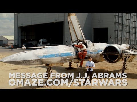 J.J Abrams Reveals Star Wars X-Wing Fighter in Charity Video