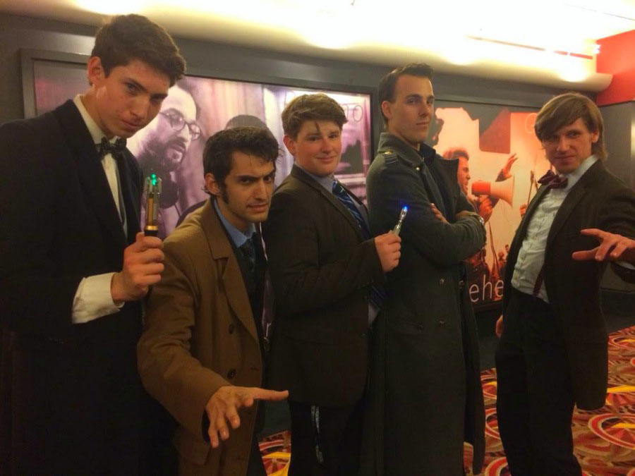 Whovians Flock to Theaters to Watch Doctor Who Season 8 Premiere in Cosplay