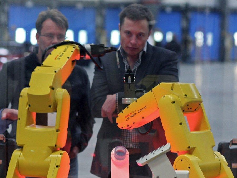 THE MACHINE WAR IS COMING – according to Elon Musk