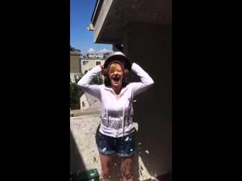 LEGION OF LEIA FOUNDER JENNA BUSCH TAKE THE ALS ICE BUCKET CHALLENGE
