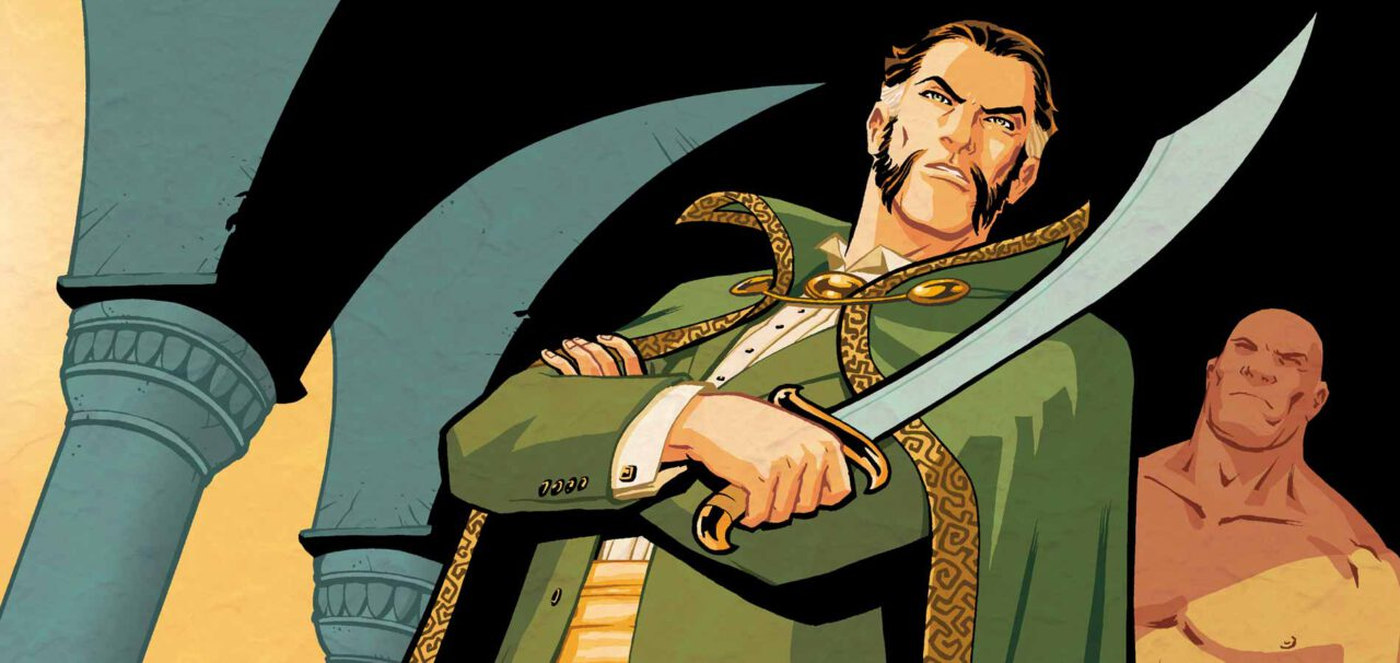Arrow Casts Matt Nable as Its Villain Ra's al Ghul