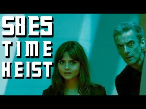 DOCTOR WHO REVIEW S8, E5 'TIME HEIST' ON WHAT THE FLICK?!