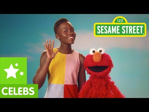LUPITA NYONG'O AND ELMO TALK ABOUT SKIN COLOR ON SESAME STREET