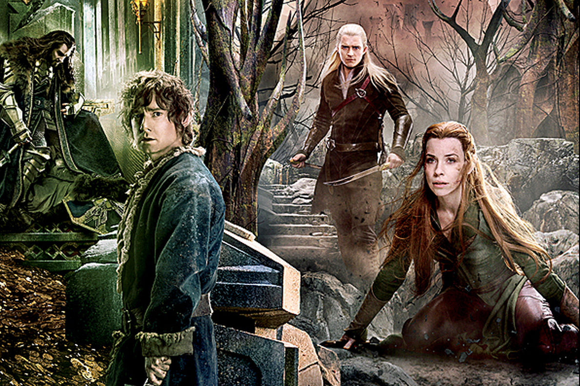 New The Hobbit Battle of the Five Armies Panoramic Is