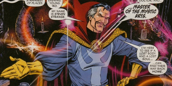 IS THIS VIDEO PROOF THAT MR. CUMBERBATCH IS THE NEW DOCTOR STRANGE? MAYBE?