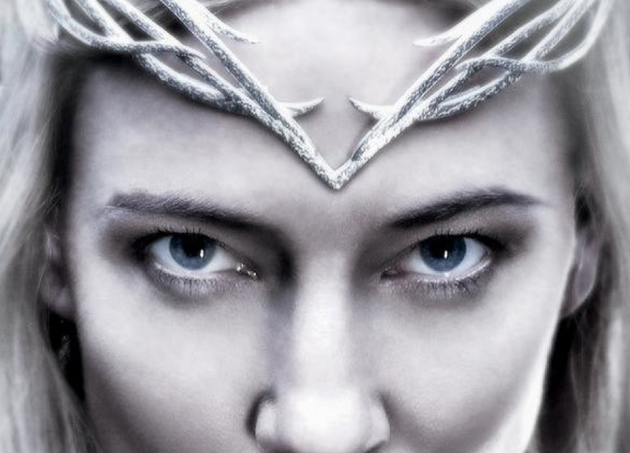 AND ANOTHER NEW The Hobbit: The Battle of Five Armies Poster, Galadriel!