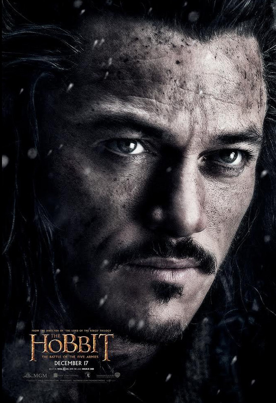 Bard the Bowman Wins Today's The Hobbit: The Battle of The Five Armies Poster Reveal