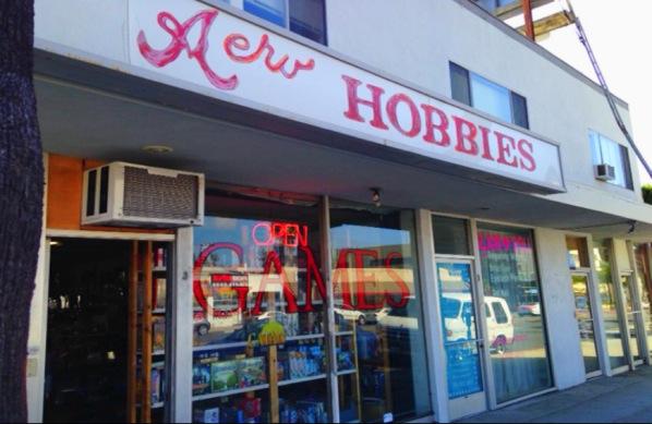 LOS ANGELES! Aero Hobbies & Games