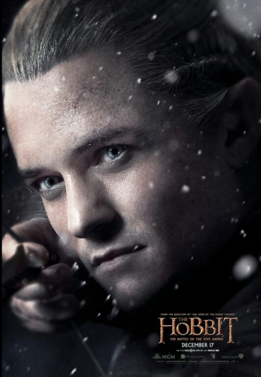 Legolas Wins Today! The Hobbit: The Battle of The Five Armies New Poster