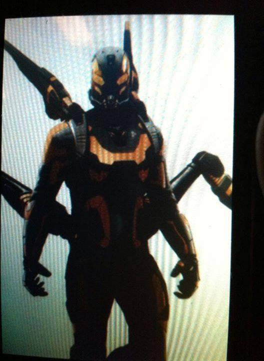 IS THIS THE SUIT FOR YELLOWJACKET IN ANT-MAN?