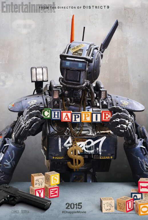New Pics from 'Chappie,' Look Out Johnny Five, There's a New Robot in Town!