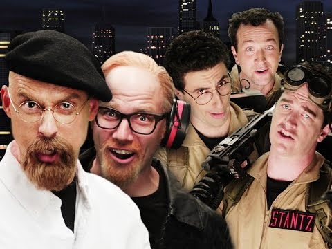 It's Ghostbusters vs. Mythbusters in the Lastest Epic Rap Battles of History!