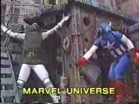 HAPPY THANKSGIVING! Marvel's Float in 1987 Thanksgiving Day Parade!