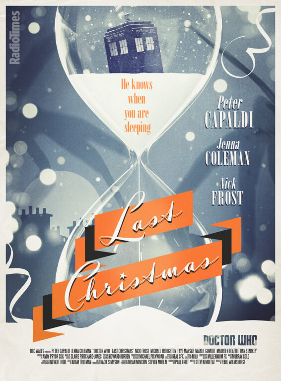 Exclusive Doctor Who: Last Christmas Poster