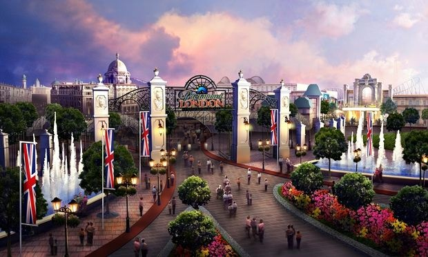 A Sherlock Holmes, Top Gear and Doctor Who Theme Park!