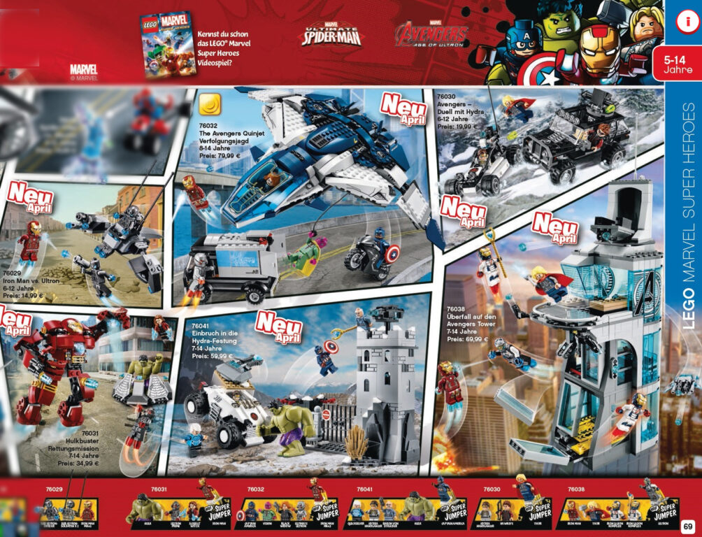 LEGO SETS SHOW AGE OF ULTRON ACTION SEQUENCES TO GET EXCITED ABOUT