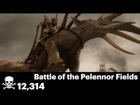 Every Single Death of the 'Lord of the Rings' Trilogy in 7 Minutes!