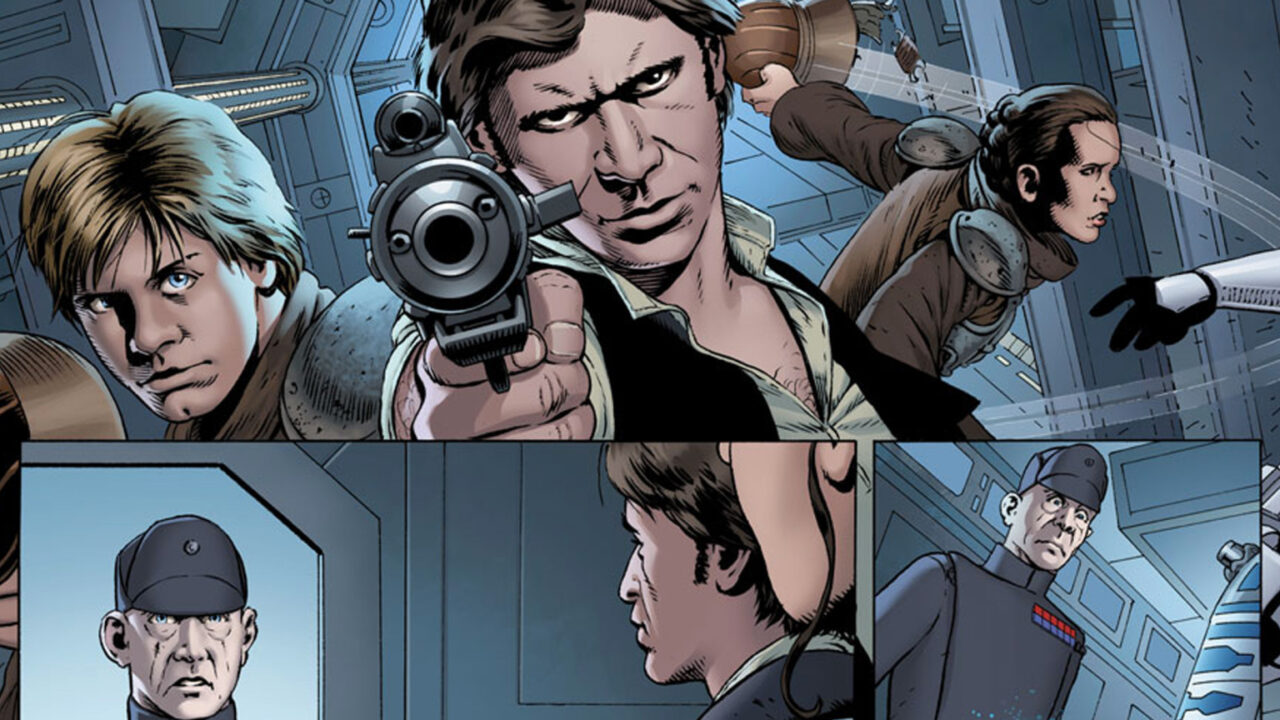 Check Out This Exclusive Preview Of Marvel's Star Wars #1!