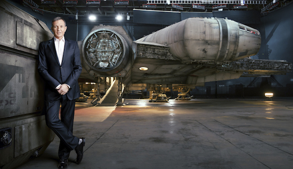 CHECK OUT THIS NEW IMAGE OF THE FULL-SCALE MILLENNIUM FALCON FROM THE FORCE AWAKENS from LEGION OF LEIA