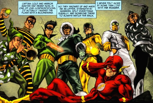 New Rumor Says The Flash Will Fight The Rogues in the Upcoming Film!