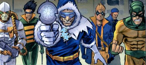 The Rogues Coming to CW's Flash!