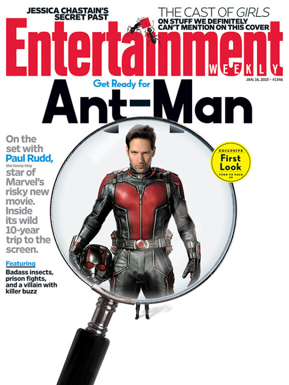 First Look at Ant-Man Poster and Costume!