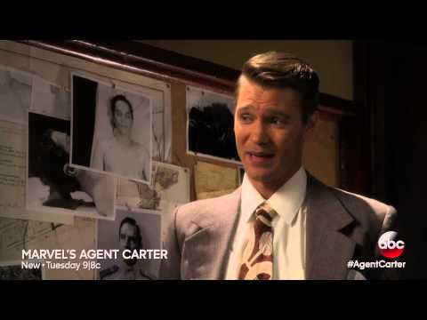 THE S.S.R. IS CLOSING IN ON AGENT CARTER IN THIS PREVIEW CLIP OF TONIGHT'S EPISODE!