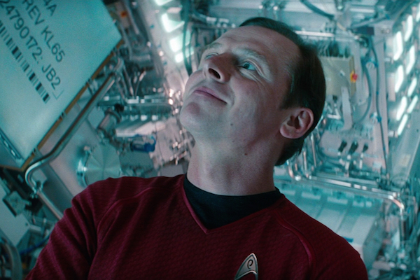 Simon Pegg Set to Co-Write Star Trek 3 with Doug Jung