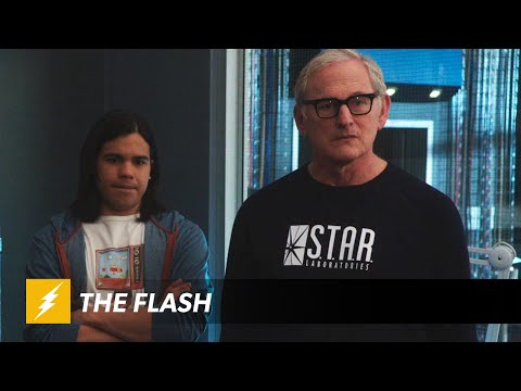 Firestorm Argues with Himself on Clip of CW's Flash