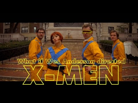 Wes Anderson's Uncanny X-Men! Honestly. Watch This.