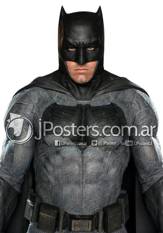 First Look at the Batman Suit in Color!