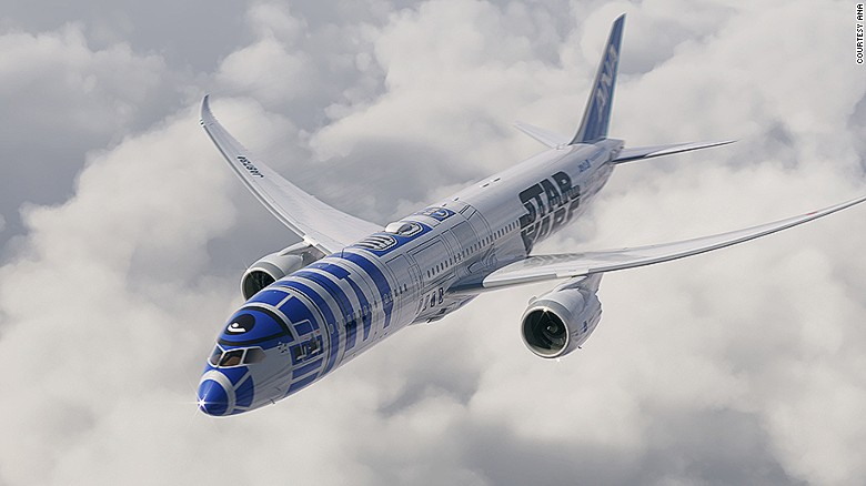 ANA Reveals Plans For Their Star Wars Themed Plane