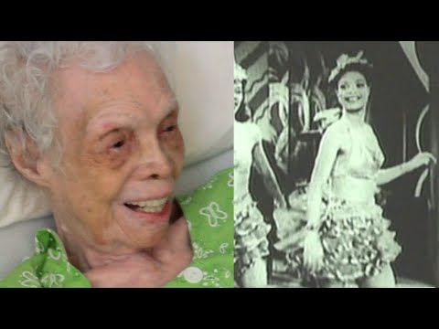 102 Year Old Alice Barker Watches Herself Dance For The Very First Time!