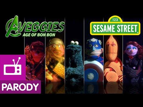 Cookie Monster Is Hulk in Sesame Street's Avengers' Parody: The Aveggies: Age of Bon Bon