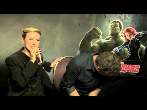 Cosmopolitan UK Turns The Tables While Interviewing Scarlett Johansson And Mark Ruffalo For The Avengers: Age Of Ultron
