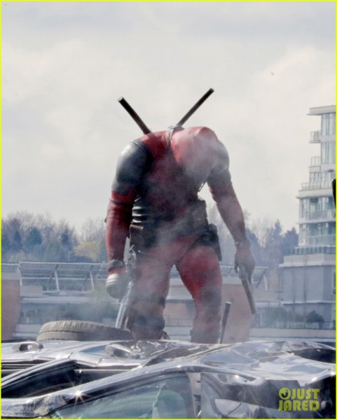 Deadpool Pics from On Set Show the Merc in Action!