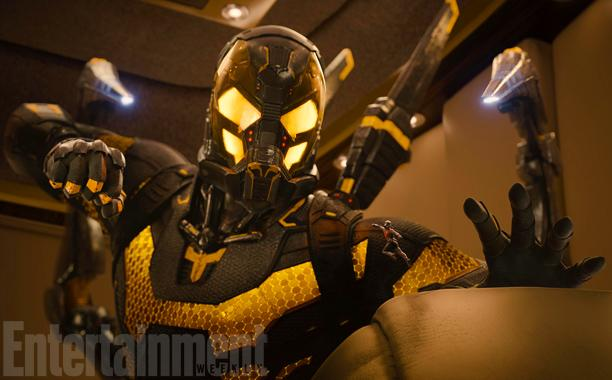 Tiny Ant-Man Faces a Mighty Yellowjacket in First Official Image from Marvel's Next Big Movie!