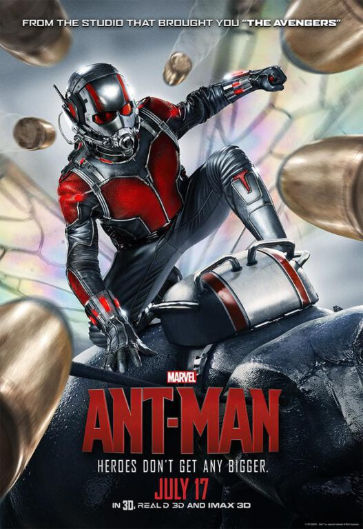 Marvel's New Poster for Ant-Man Proves that Heroes Don't Get Any Bigger.