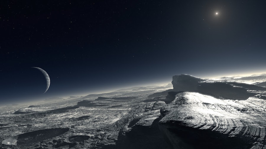 Gateway to the Unknown – New Horizons Extraterrestrial Exploration Craft Approaching Pluto!