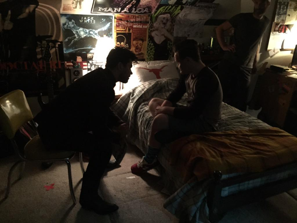 Jesse and Arseface Have a Moment in First Picture from Set of Preacher