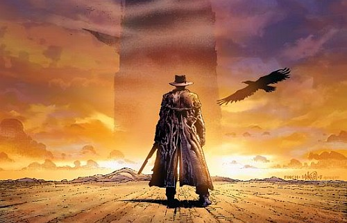 THE DARK TOWER Teaser Poster Revealed by Stephen King