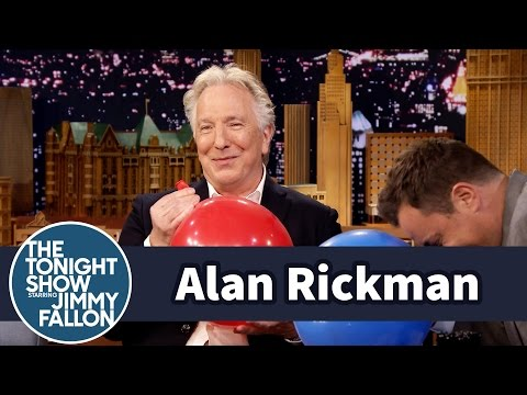"Alan Rickman Hilariously Confronts Jimmy Fallon about Famous ""Rickman-Off"" Episode with Benedict Cumberbatch"